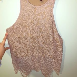 Lacey express top